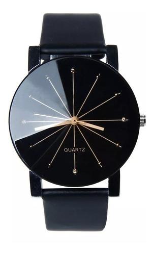 Relógio Masculino Quartz Pulseira Couro Original Promoção