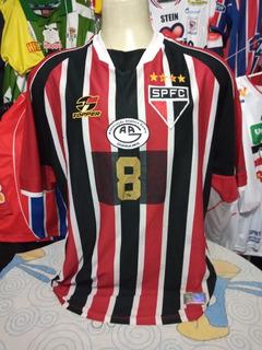 Camisa Do São Paulo 2003 #8 De Jogo Futsal