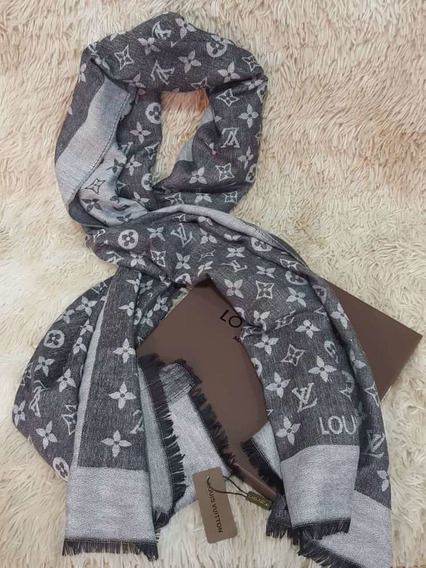 Elegantes Bufandas Louis Vuitton, Gucci, Burberry