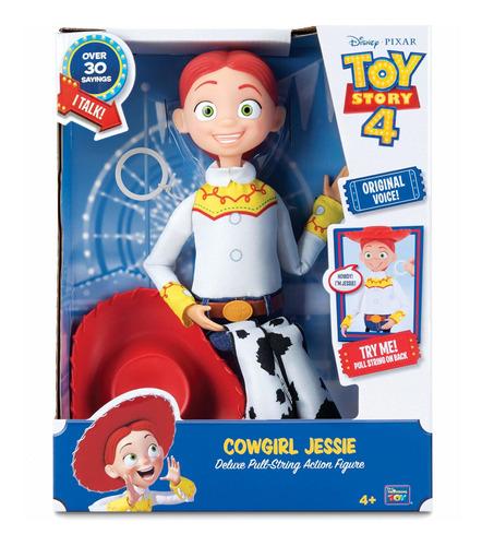 Imagen 1 de 2 de Figura Jessie La Vaquerita Con Cuerda Toy Story 4