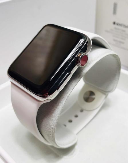 Apple Watch Serie 3 (gps + Cellular) Acero Inoxidable 42 Mm