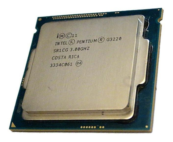 Processador gamer Intel Pentium G3220 BX80646G3220 de 2 núcleos e 3GHz de frequência com gráfica integrada