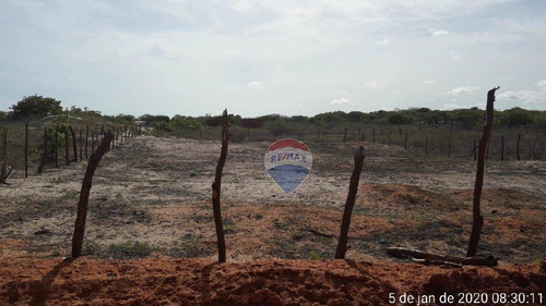 Terreno À Venda, 288 M²  - Centro - Areia Branca/rn - Te0011