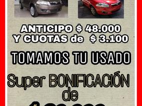 Fiat Siena 1.4 Gnc Entrega Tu Usado O $42.000 Sale