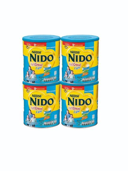 Leche Nido Forticrece Descremada 1.440g X4 Tarros