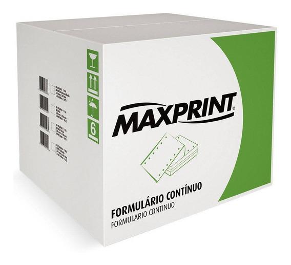 Formulário Continuo 240x280 2v Branco 1500 Folhas Maxprint
