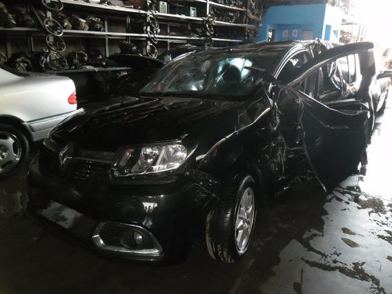 Sucata Sandero 2014 1.6 8v Pra Tirar Peças Motor Cambio Capo