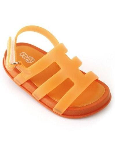 Sandalia Tiras Infantil Laranja 227 Mini Bizz Plugt