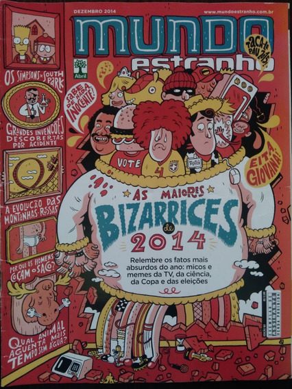 Revista Mundo Estranho- 161- Dezembro- 2014