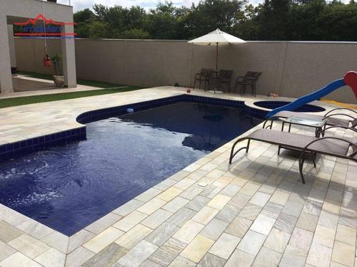 Imagem 1 de 7 de Casa Com 4 Dormitórios À Venda, 334 M² Por R$ 1.500.000,00 - Condominio Figueira Garden - Atibaia/sp - Ca3128