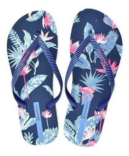 Chinelo Ipanema I Love Tropical Azul 26284