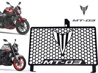 Tela Protetor De Radiador Aço Carbono Grade Yamaha R3 2016