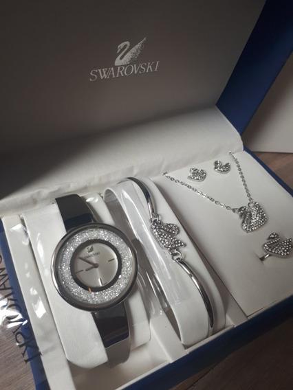 Relogio Swa + Box 05 Peças !! Novo Na Caixa Original !!!