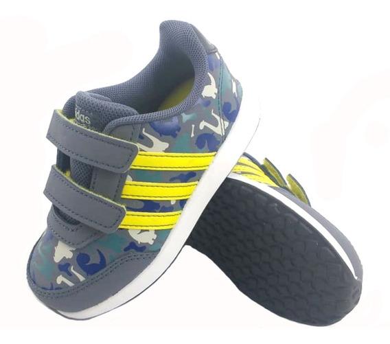 Zapatillas Niños adidas Vs Switch 2 Cmf Inf Gris Eezap