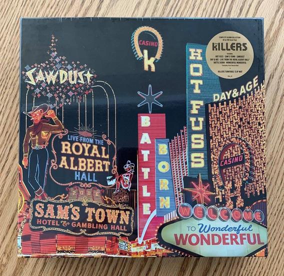 Lp Vinil Box The Killers Career Box (2018) 180 Gram Lacrado!