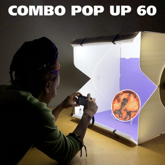 Combo Pop Up Studio 60 - Estúdio Portátil E Acessórios