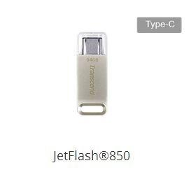 Pendrive 32gb Usb 3.1 Tipoc Jetflash 850s Transcend