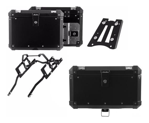 Bau Para Moto Roncar 48 E 33 Litros F 800 Gs Adv. 16/17 Pto