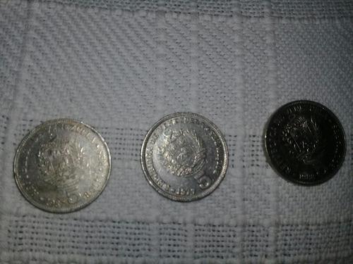 Monedas Venezolanas De 5 Para Coleccionar 1977 /  1988