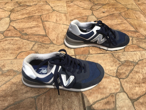 Tênis New Balance 574 Navy
