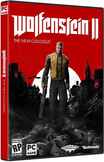 Wolfenstein 2 The New Colossus - Pc Dvd Frete 8 Reais