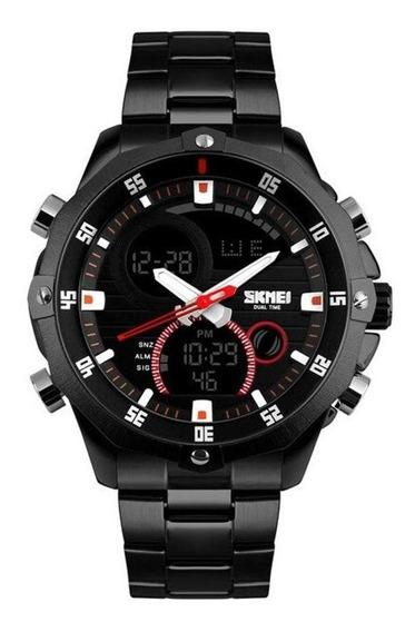 Relógio Skmei 1146 Cronometro Masculino Anadigi Casual
