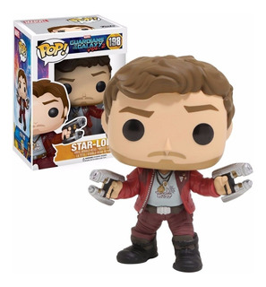 Star Lord #198 Guardianes De La Galaxia 2 Tipo Funko Pop