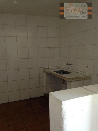 Casa Com 2 Dormitórios Para Alugar, 50 M² Por R$ 800/mês - Jardim São José - São Paulo/sp - Ca0018
