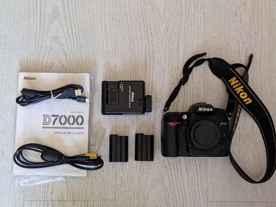 Camera Nikon D7000 Corpo (com 22.000 Cliques Apenas)
