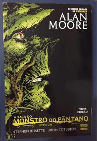 Monstro Do Pântano Livro Um (frete R$ 10)