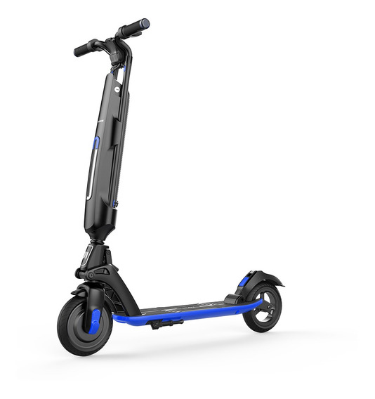 Monopatin Electrico Scooter Auton.30km Usb Azul