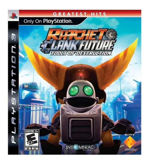 Jogo Ratchet & Clank Future Tools Of Destruction - Ps3