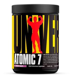 3 Em 1 - Pré Treino Bcaa Gluamina - Atomic 7 - Universal