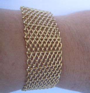 Pulseira Bracelete Ouro Amarelo 18k (750) (110)