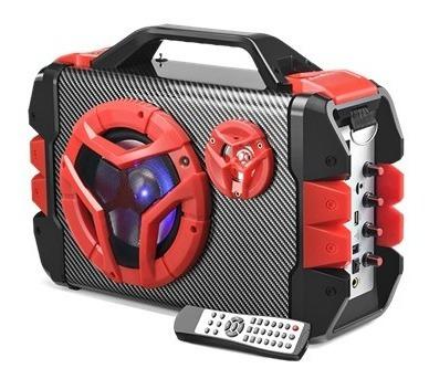 Caixa De Som Multiuso Bluetooth/ Microfone Com Alca - Sp250