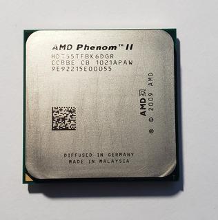 Amd Phenom Ii X6 1055 T(125 W) 2.8 Ghz, 6 Nucleos.