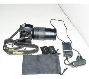 Camara Profesional Reflex Nikon D3200