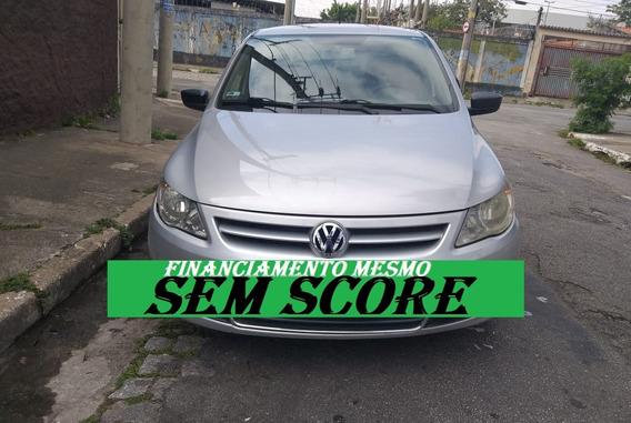 Vw Gol 2009 Com Direção Financiamento Com Score Baixo