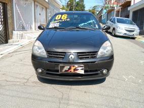 Renault Clio Sedan 1.6 16v Alizé Hi-flex - 2º Dono !!