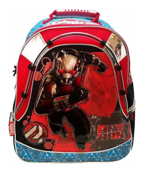 Mochila Espalda Vengadores Avengers Ant Man 16p Oferta