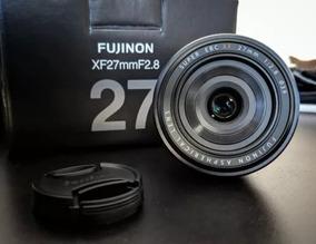 Lente Fuji Xf 27mm - Novinha Na Caixa