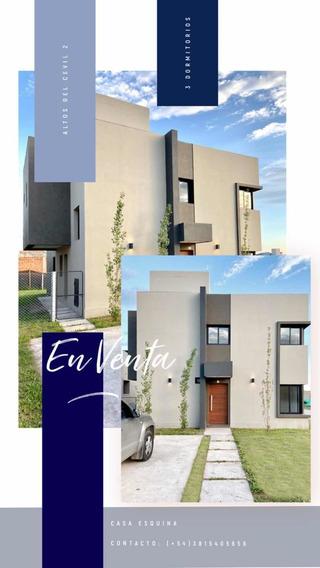 Casa En Venta - Altos Del Cevil 2 - 3 Dormitorios