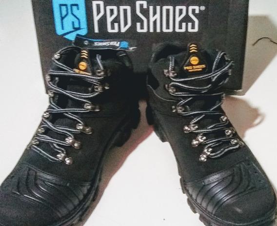 Bota Ped Shoes Preta.frete Grátis