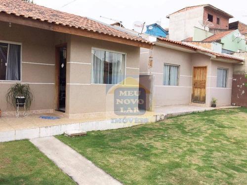 Casa Residencial À Venda, Jardim Das Acácias, Campo Largo. - Ca0041