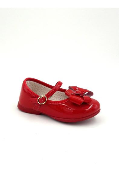 Sapatilha Infantil Kidy Vermelha Bailarina Com Laço