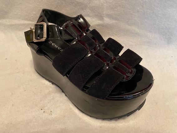 Zapatos Nazaria Con Plataforma - Talle 35