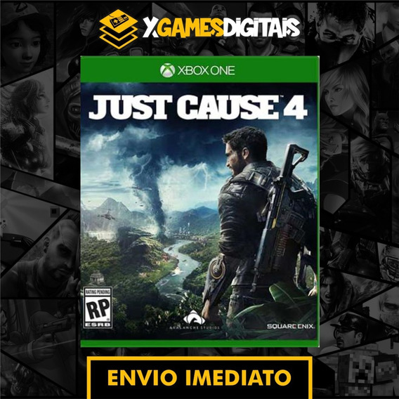 Just Cause 4 Xbox One Midia Digital + 1 Jogo Brinde