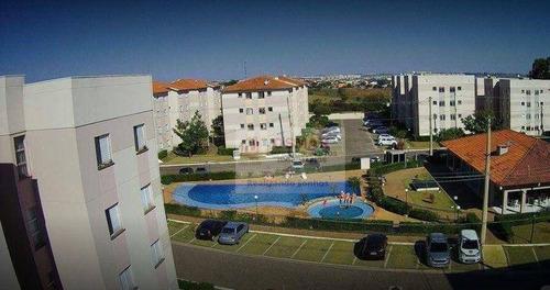 Apartamento Com 2 Dormitórios À Venda, 48 M² Por R$ 185.000,00 - Jardim Santa Maria (nova Veneza) - Sumaré/sp - Ap0308