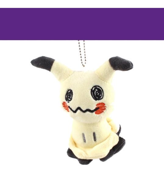 Pokémon Mimikyu Chaveiro De Pelúcia 14cm! Novo