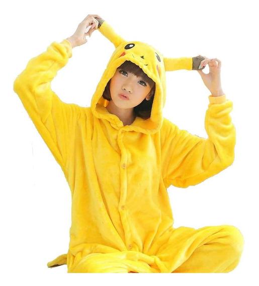 Pijama Kigurumi Pikachu Cosplay Disfraz Envío Gratis